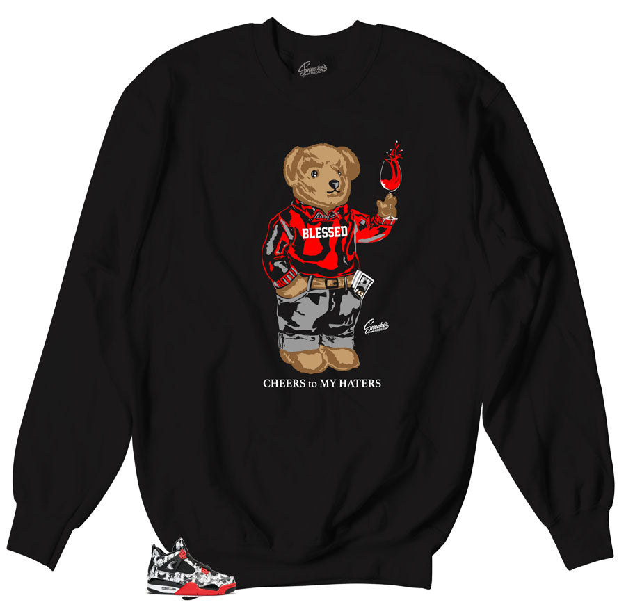Crewneck sweater to match Jordan Tattoo 4 sneakers