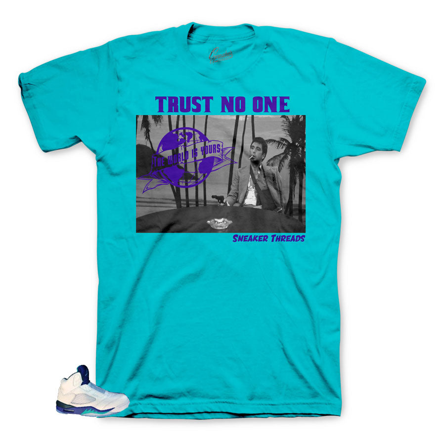 Best shirts to match Grape Bel Air 5's