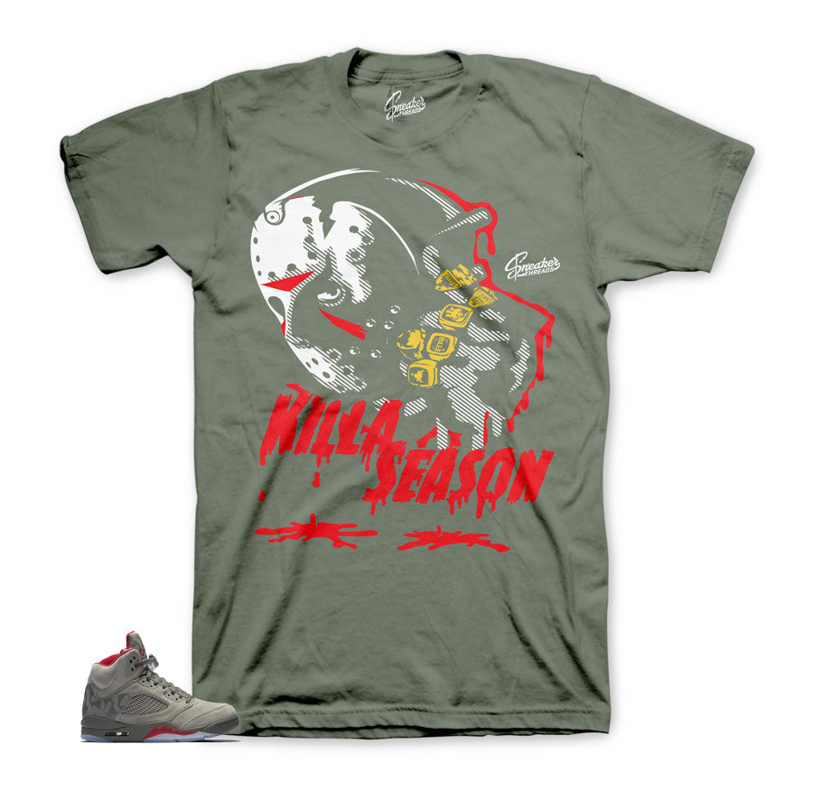 Jordan 5 camo shirts match | Sneaker match shirts and tees