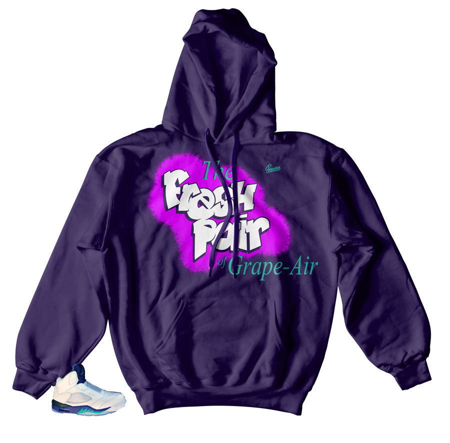 the best attitude cee5b 68e3d Jordan 5 Grapes Hoody - Grape-Air - Purple