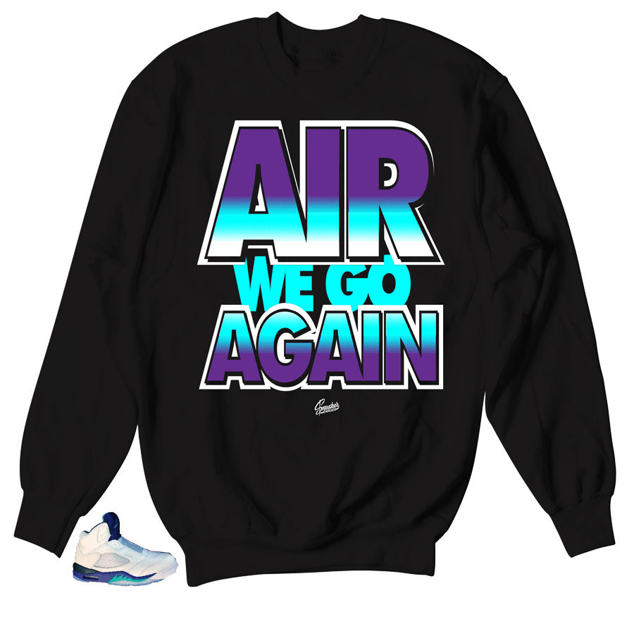 Perfect match sweater for Grape 5's