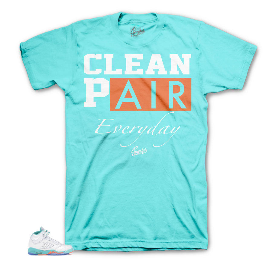 Light Aqua 5's Everyday tee