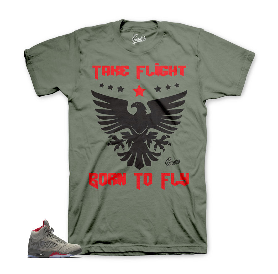 Jordan 5 camo tees match | Official matching sneaker tees