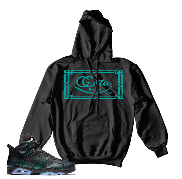 Jordan 6 All Star Hoody - Gotta Shine - Black