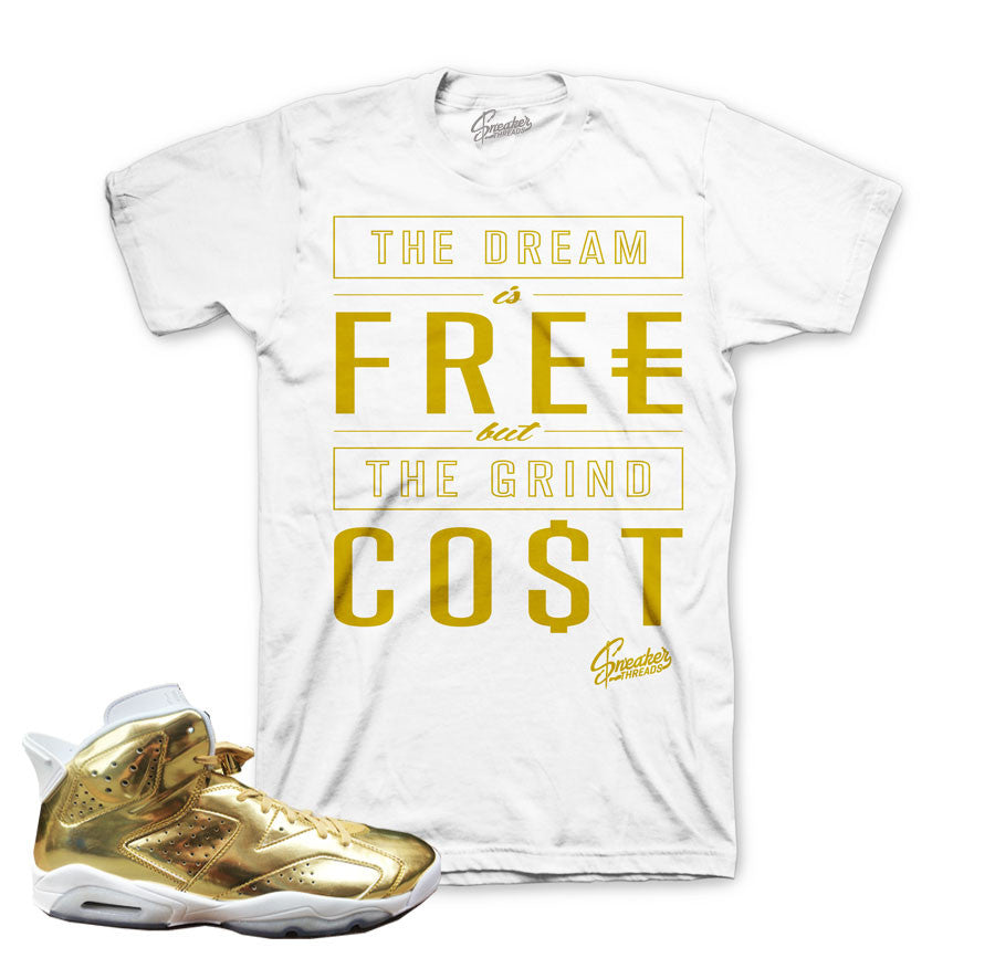 separation shoes b2dbf c3eb8 Jordan 6 Pinnacle Shirt - Cost - White