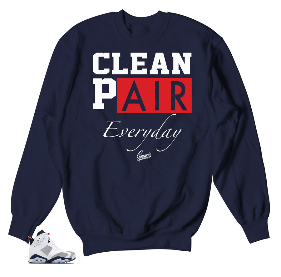 classic fit 6751f cbb1a Jordan 6 Tinker Sweater - Everyday - Navy