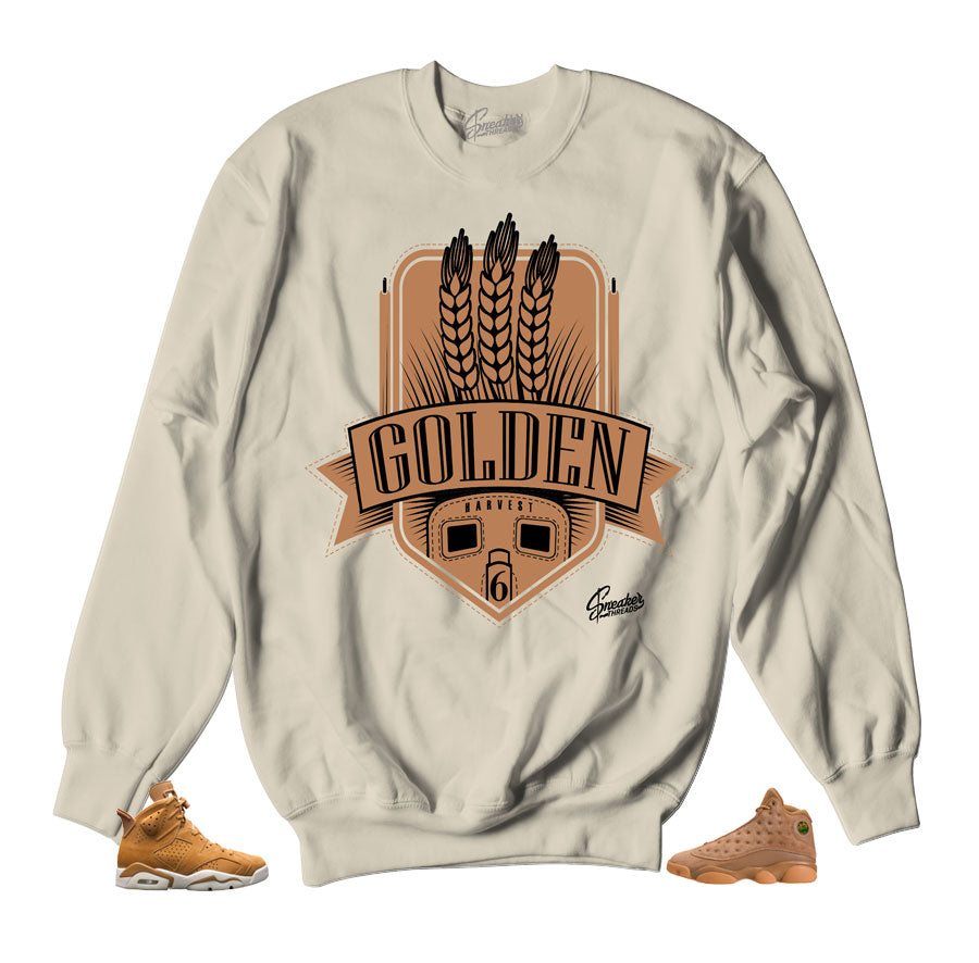 buy online a78c9 bfe8f Home Jordan Wheat Sweater - Golden Harvest - Natural. Share