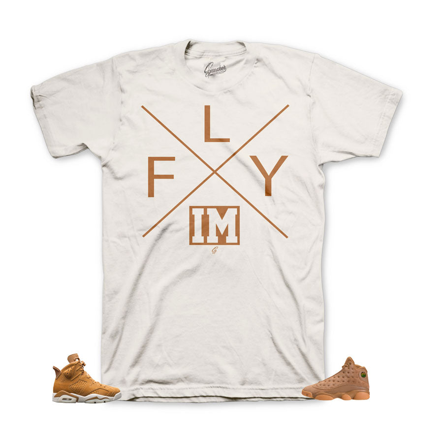 jordan 6 wheat shirts match retro 13's | Golden harvest tees.