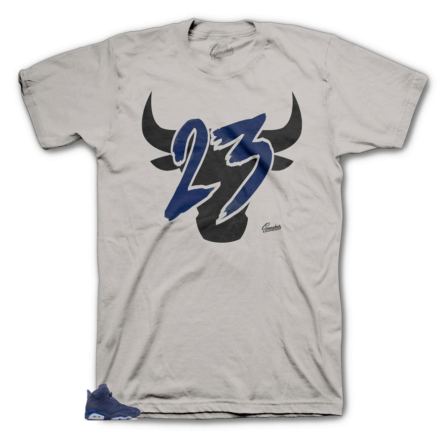 Jordan Silver shirts to match Diffused 6's
