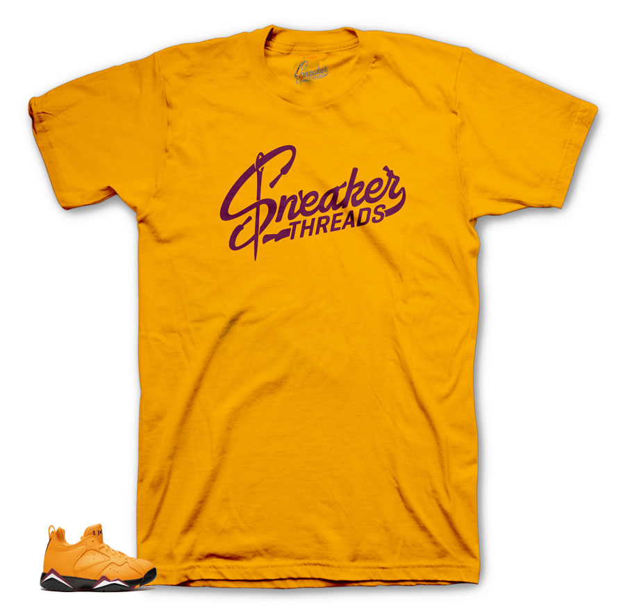 Gold shirts for Taxi NRG 7s