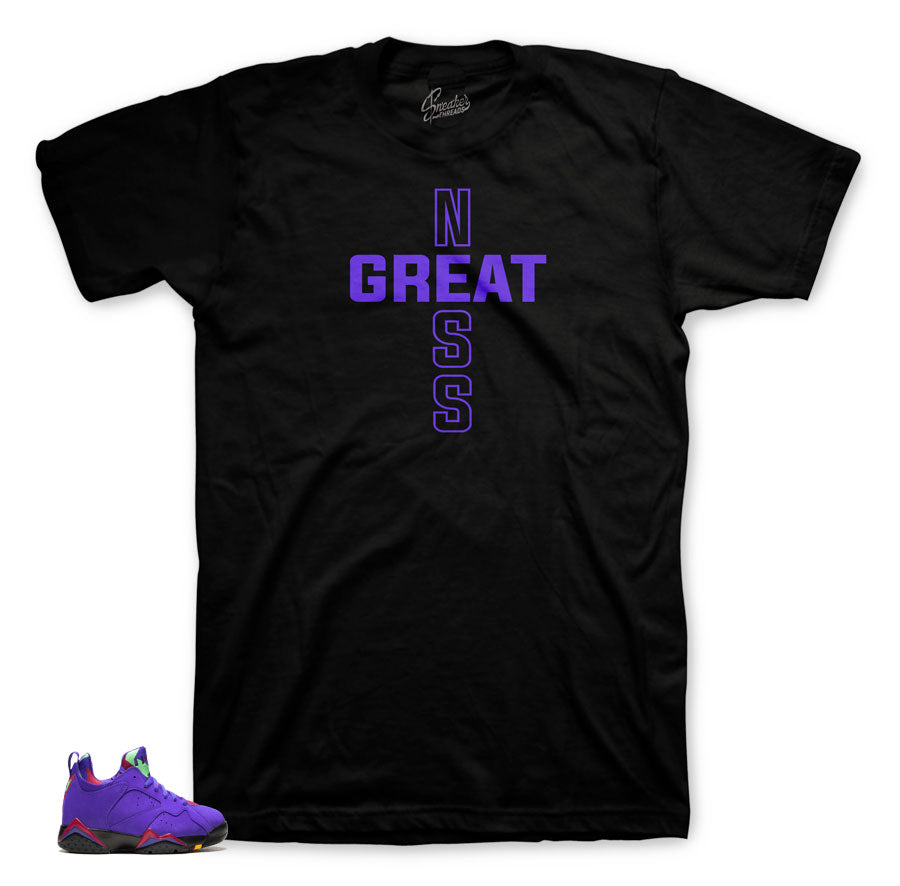 Jordan Greatness shirt for Concord 7's