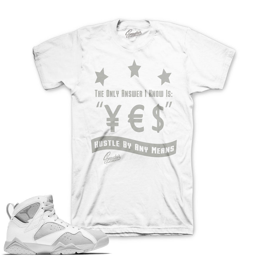 Match Jordan 7 pure money shirts retro 7's money tees match.