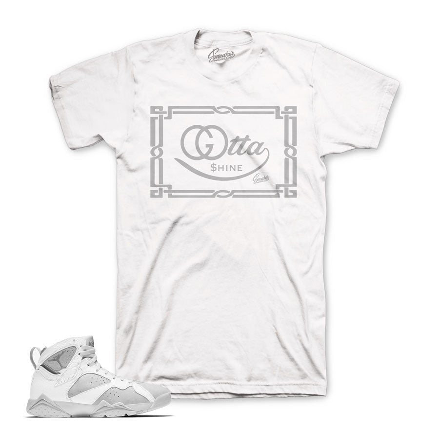 f8c8a509c91 Jordan 7 pure money tees shirts match retro 7's match tees.