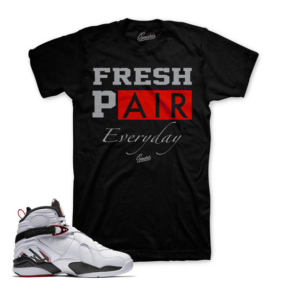 Jordan 8 Alternate Shirt - Fresh Air - Black