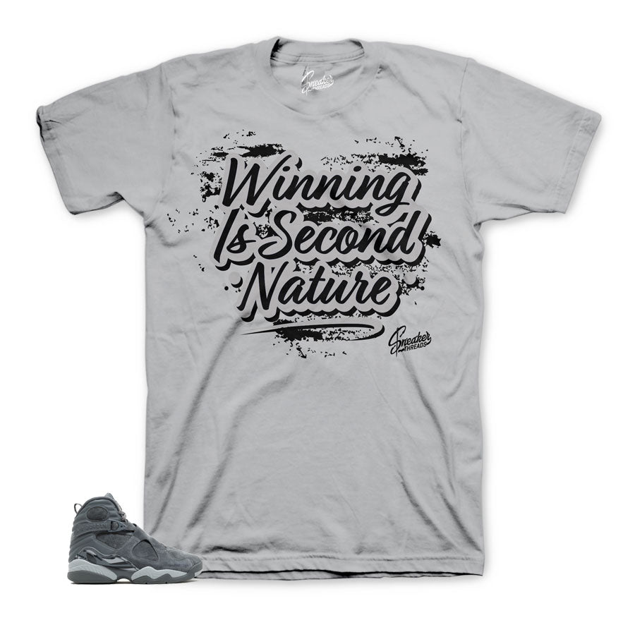Jordan 8 cool grey shirts match | Official matching tees.