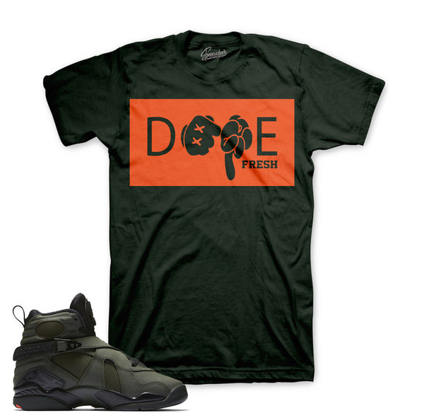 Jordan 8 Take Flight Shirt - Hands - Green