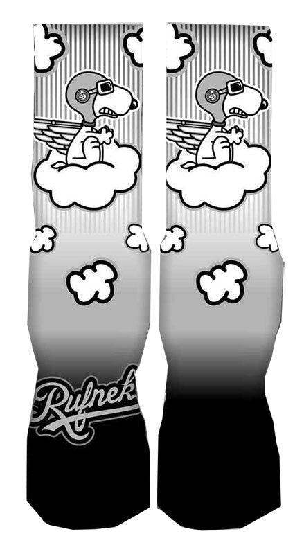 JORDAN RETRO 9 BARONS SOCKS