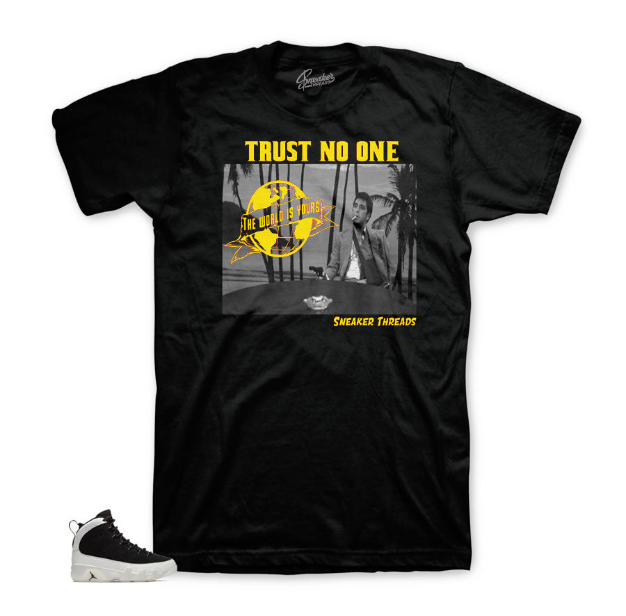 Jordan 9 LA tees match city of flight retro 9 | Official city of flight tees.