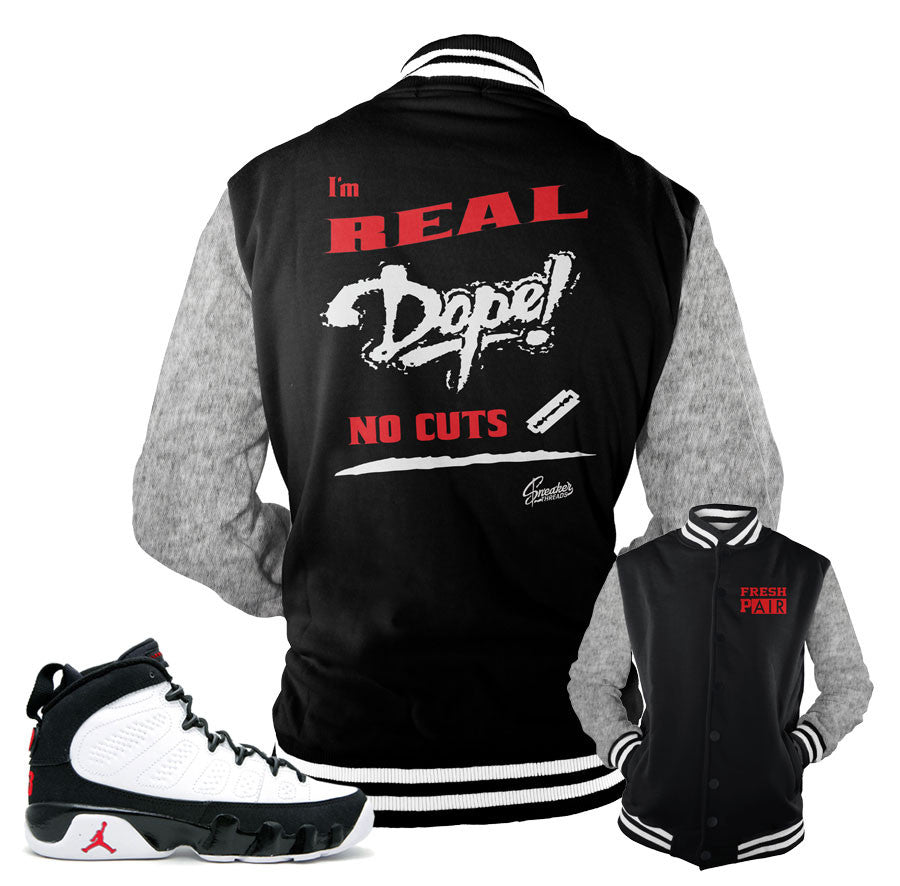 new arrival 0857c 7da77 Jordan 9 OG Jacket - No Cuts - Black