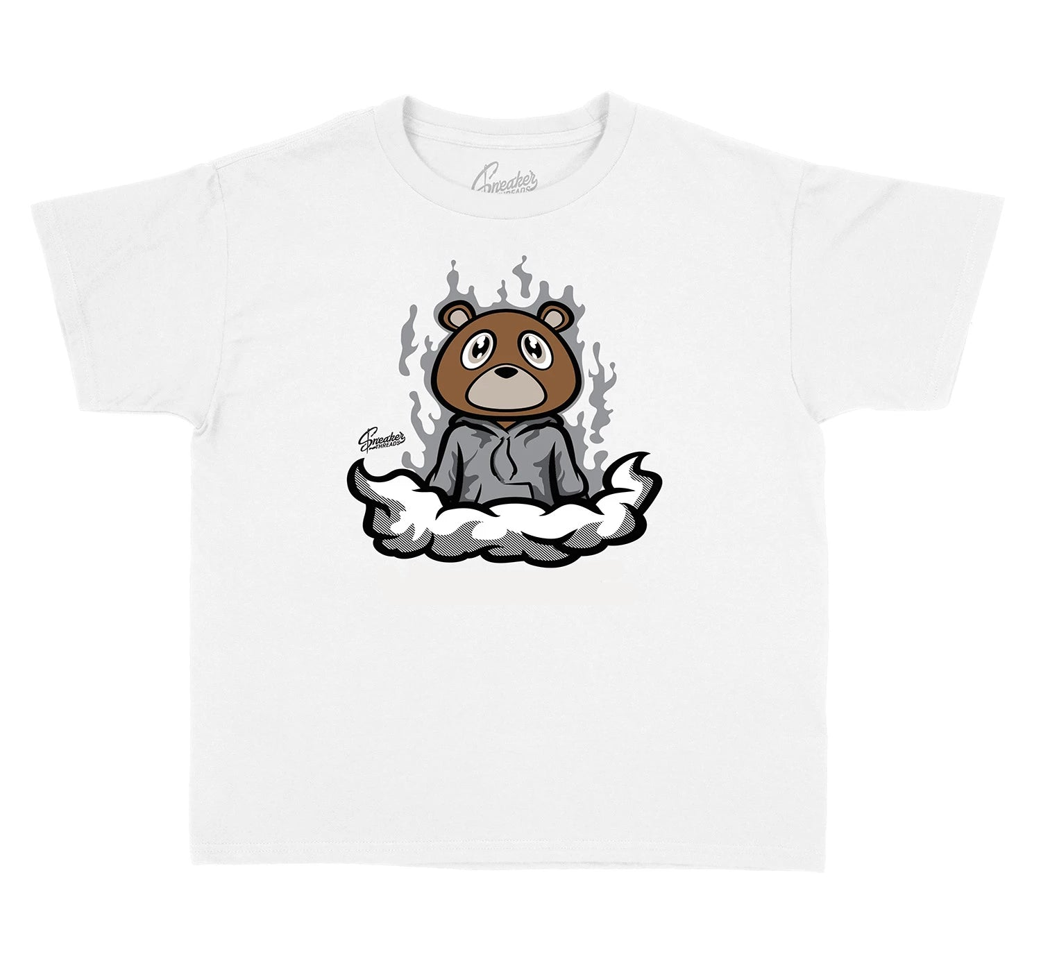 Yeezy Boost Kids shirt collection to for Cloud White 350