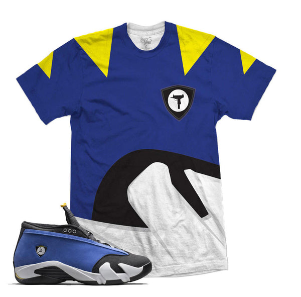 Jordan 14 Low Laney Shirt - Blue Diamond - Blue