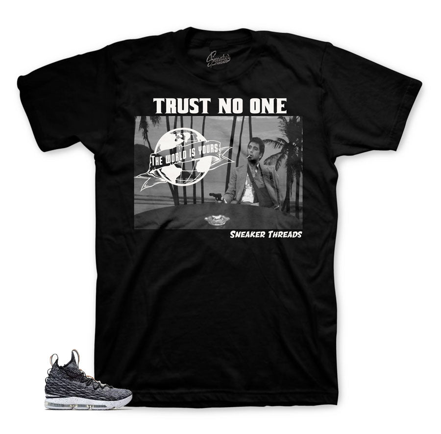 Lebron 15 ashes apparel and tees match shoes | Sneaker Tees.