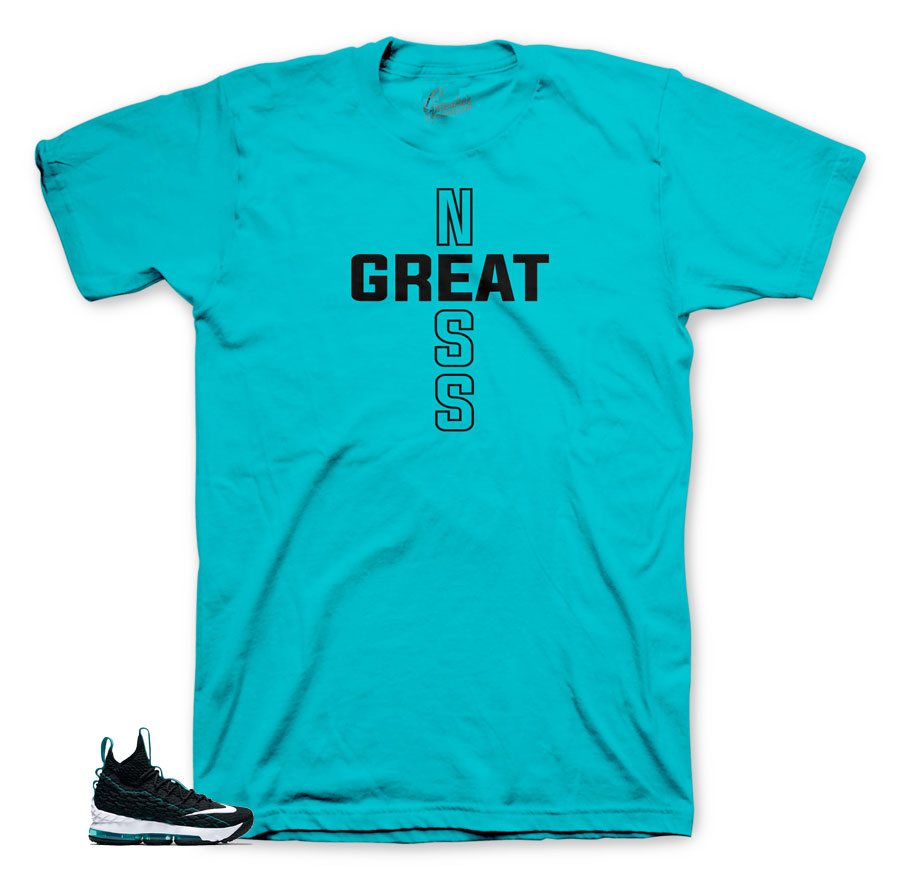 Griffey Lebron 15 matching tees and shirts for lebron 15 shoes.