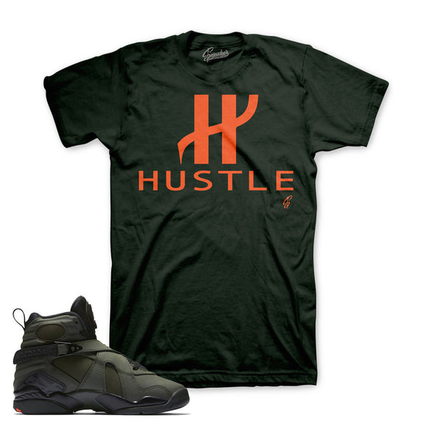 Jordan 8 Take Flight Shirt - Big H - Green