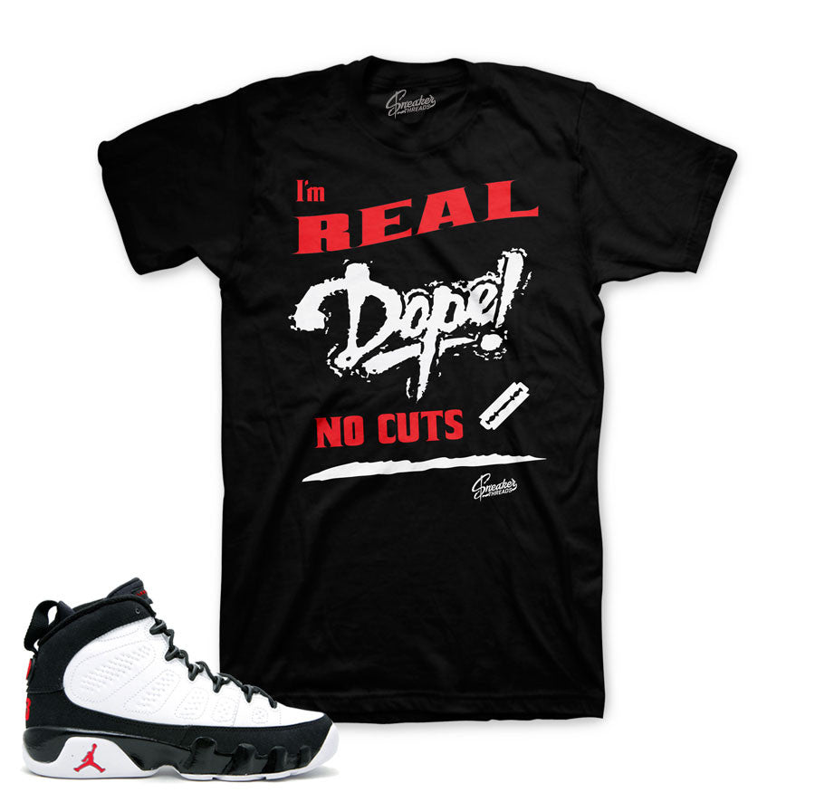 d532da291d9 Jordan 9 OG Shirt - No Cuts - Black