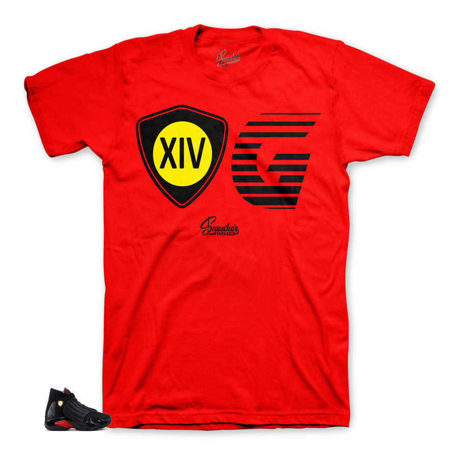 The best tees match Jordan 14 tees