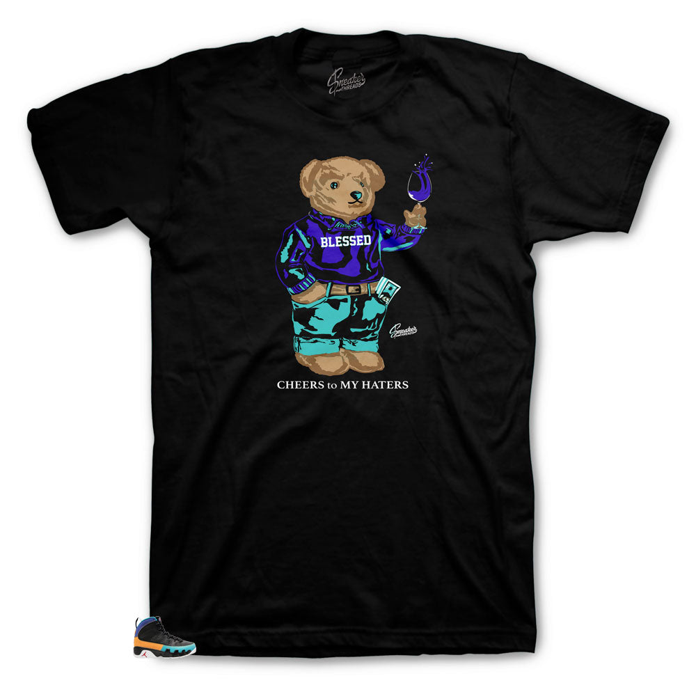 Jordan 9 Dream It Do It Sneaker Tees Match Retro 9s Flight Nostalgia.