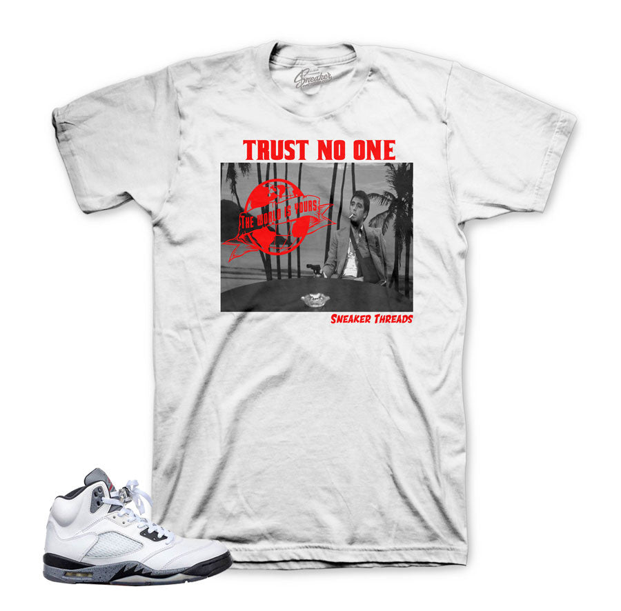be509182821311 The freshest sneaker shirts match Jordan 5 cement shoes.