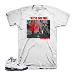 The freshest sneaker shirts match Jordan 5 cement shoes.