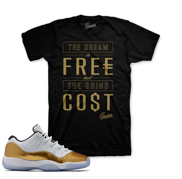 Jordan 11 Closing Ceremony Shirt - Costs - Black