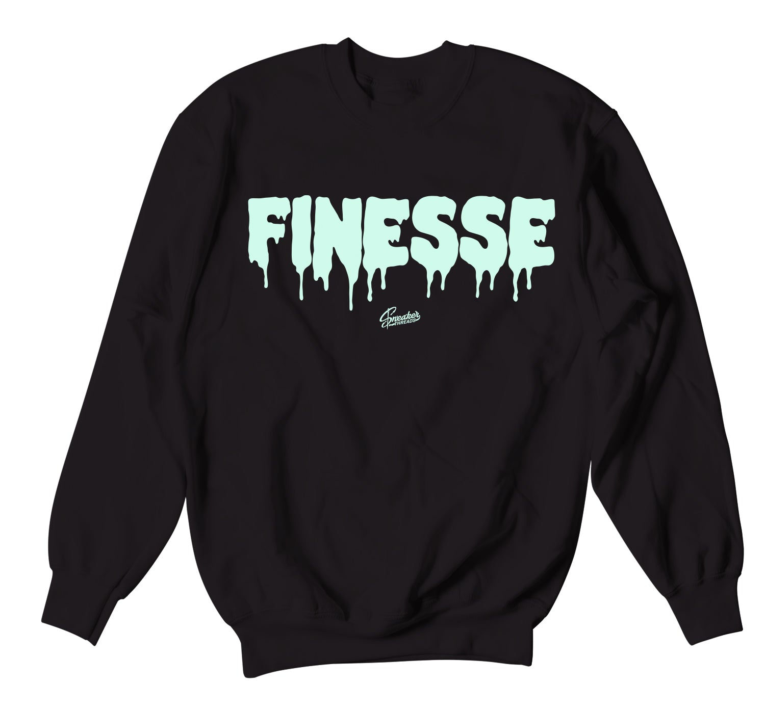 Barely Green All Star Sweater - Finesse - Black