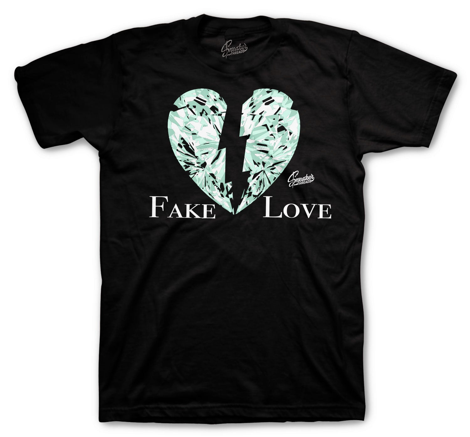 Barely Green All Star Shirt - Fake Love - Black