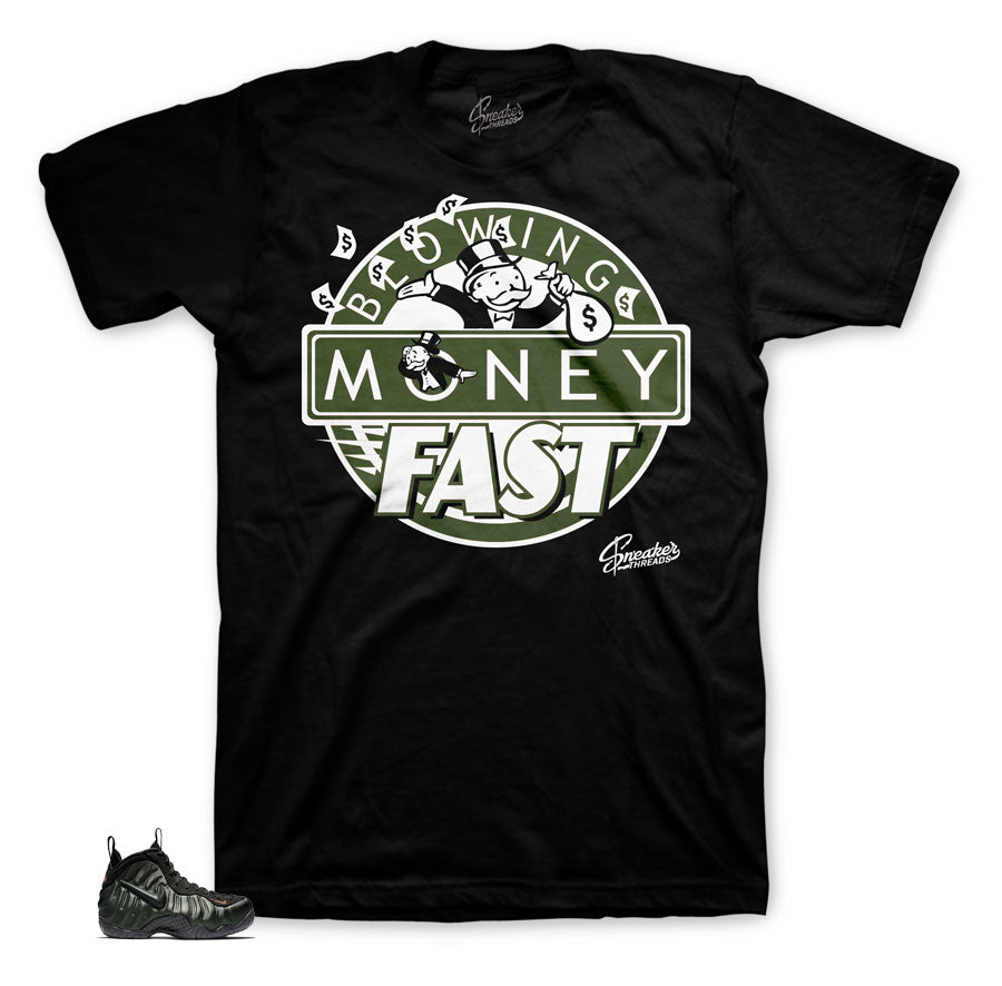 Foamposite sequoia sneaker matching tees and shirts for foam | Sneaker Tees.
