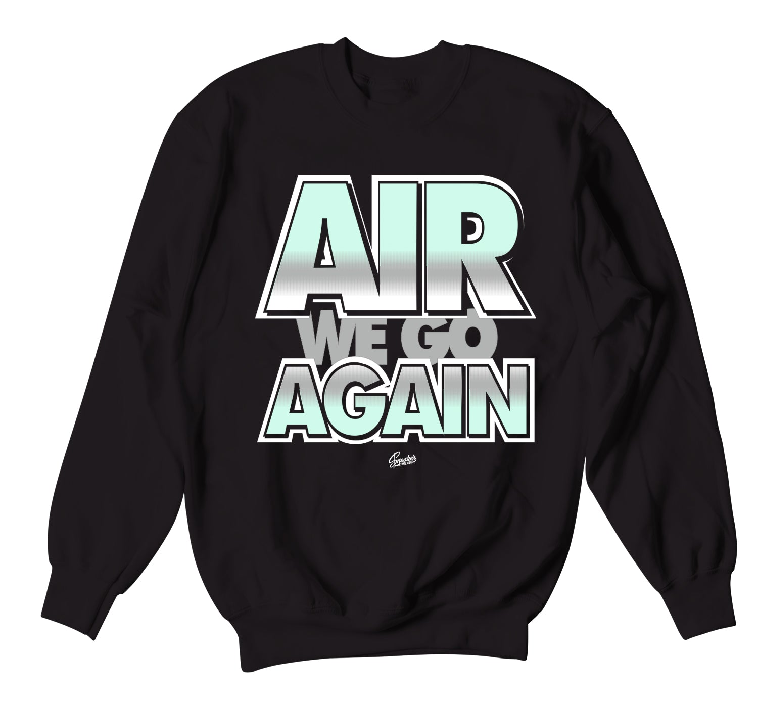 Barely Green All Star Sweater - Air We Go - Black