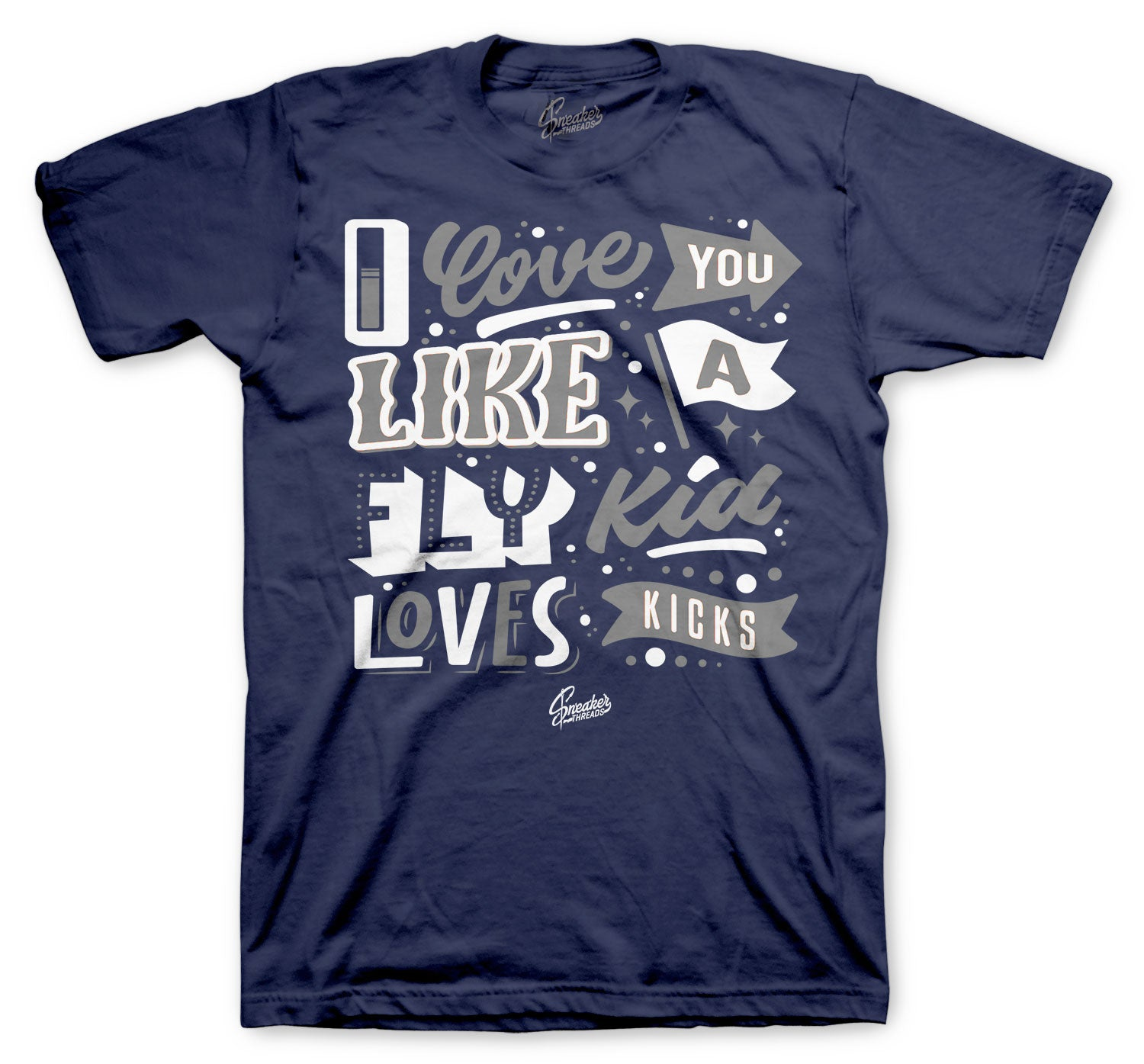 Jordan 3 Midnight Navy Shirt - Love Kicks - Navy
