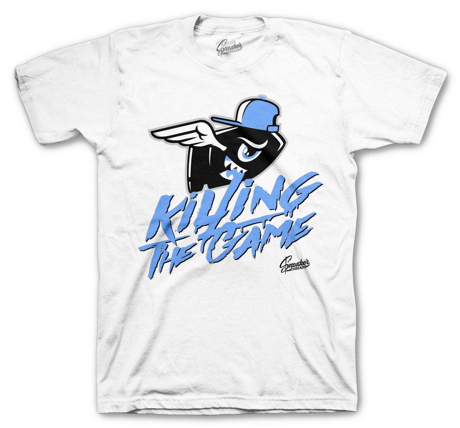 Jordan 1 Hyper Royal Shirt - Killing The Game - White