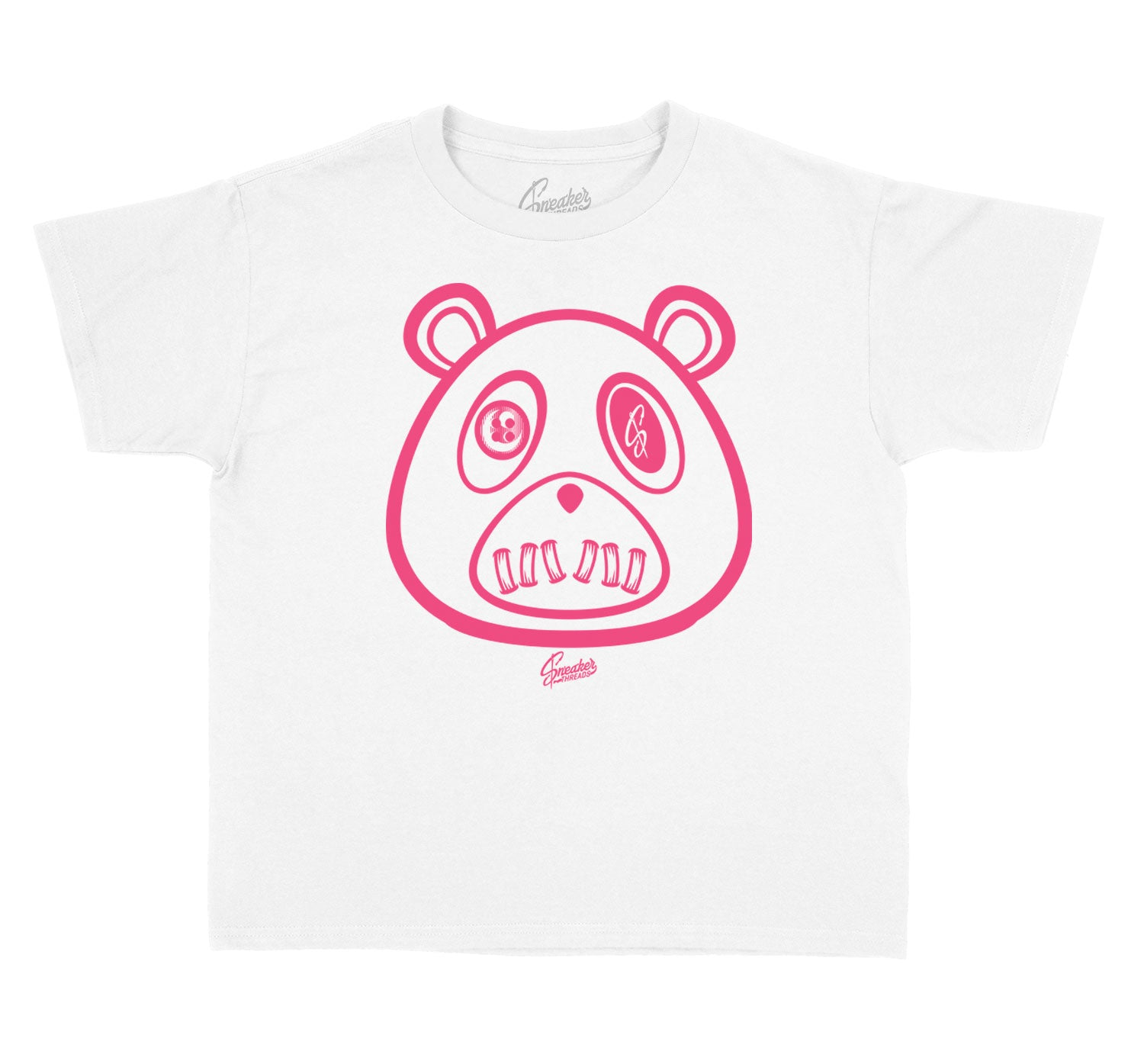 Kids Ice Cream 12 Shirt - ST Bear - White