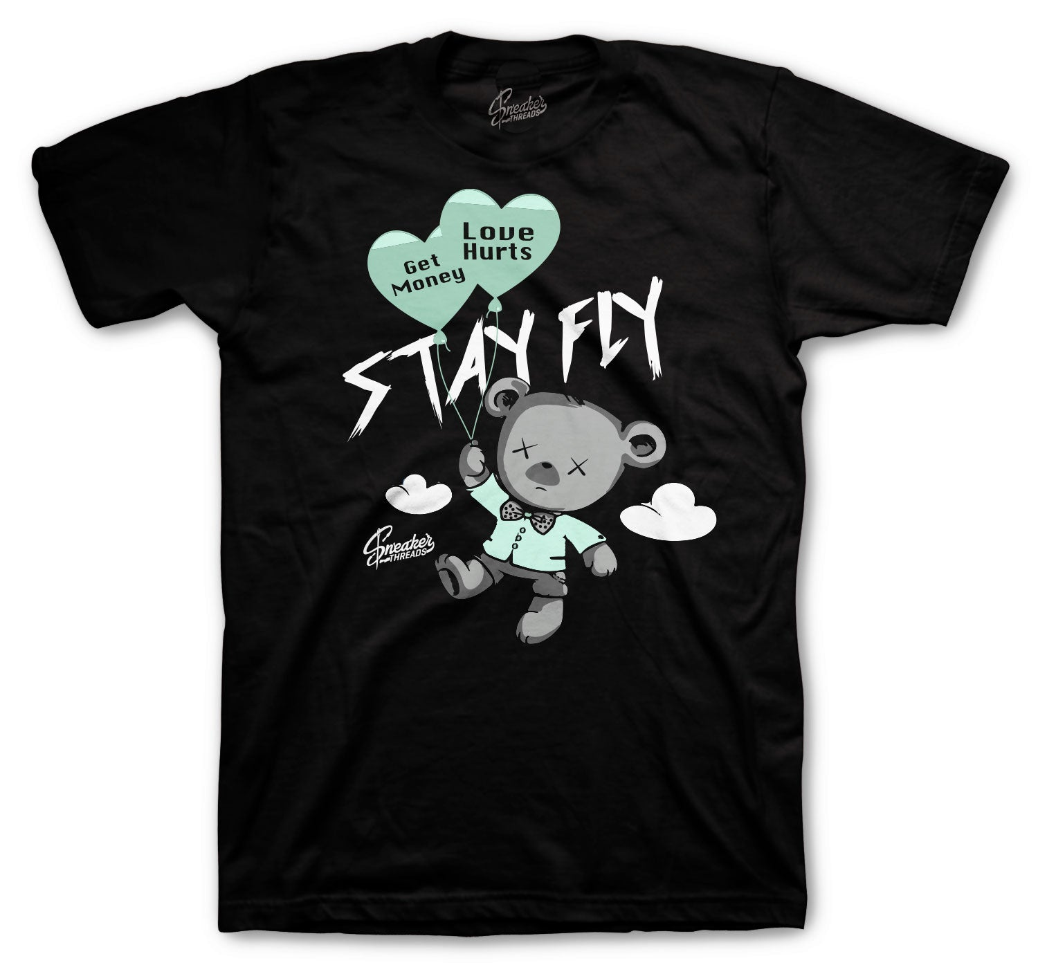 Barely Green All Star Shirt - Money Over Love - Black