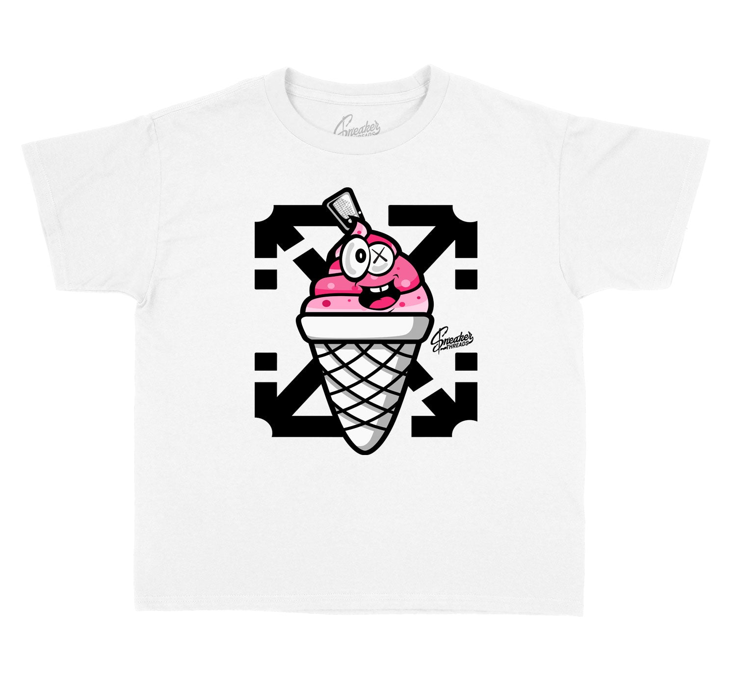 Kids Ice Cream 12 Shirt - Lucky Charm - White