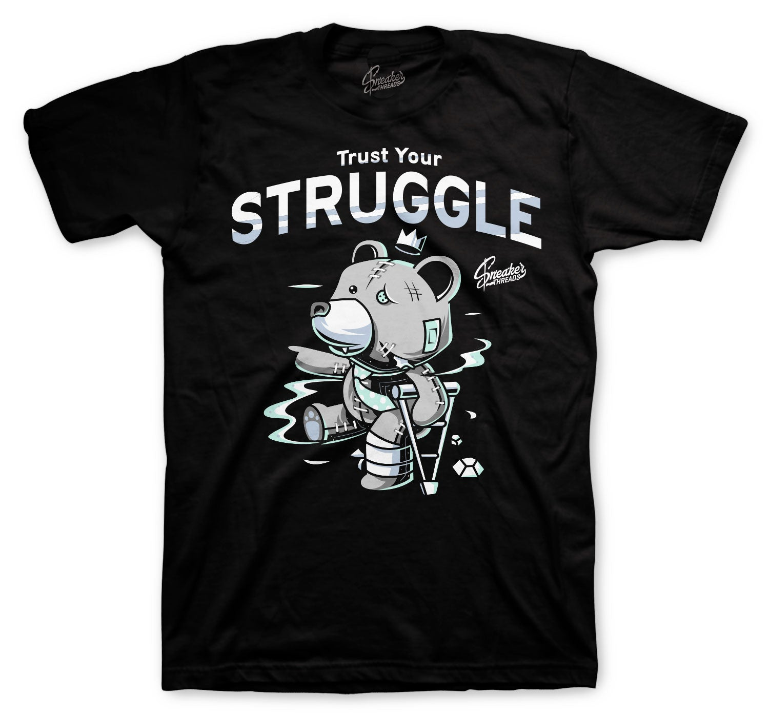 Jordan 12 Easter Shirt - Trust Your Struggle - Black