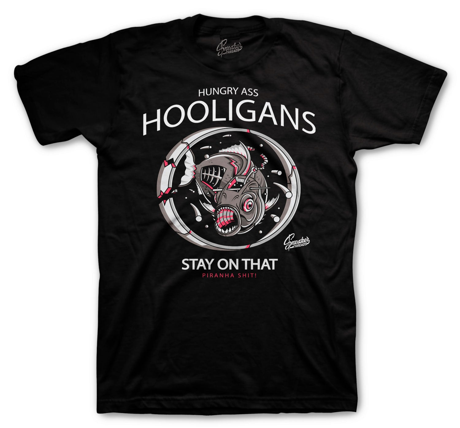 Jordan 4 Taupe Haze Shirt - Hooligans - Black