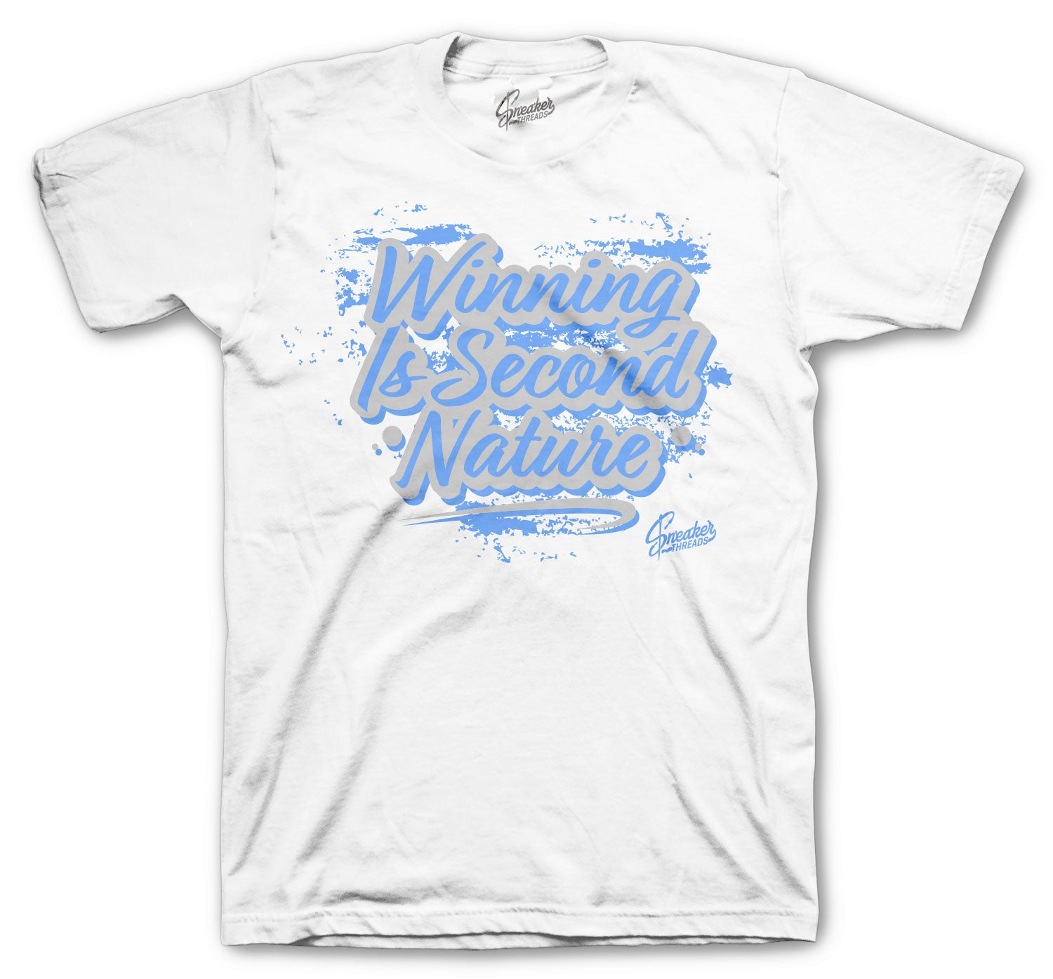 Jordan 1 Hyper Royal Shirt - Second Nature - White