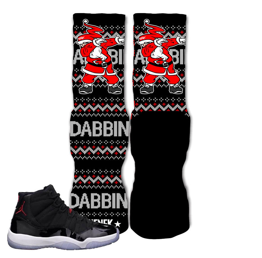 "Elite socks match Jordan 11 72-10 retro 11 ""72-10"" elite socks."