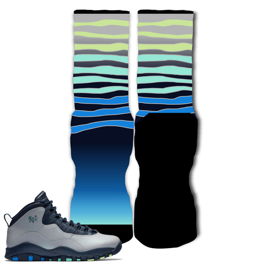 Jordan 10 Rio Socks - Achievements
