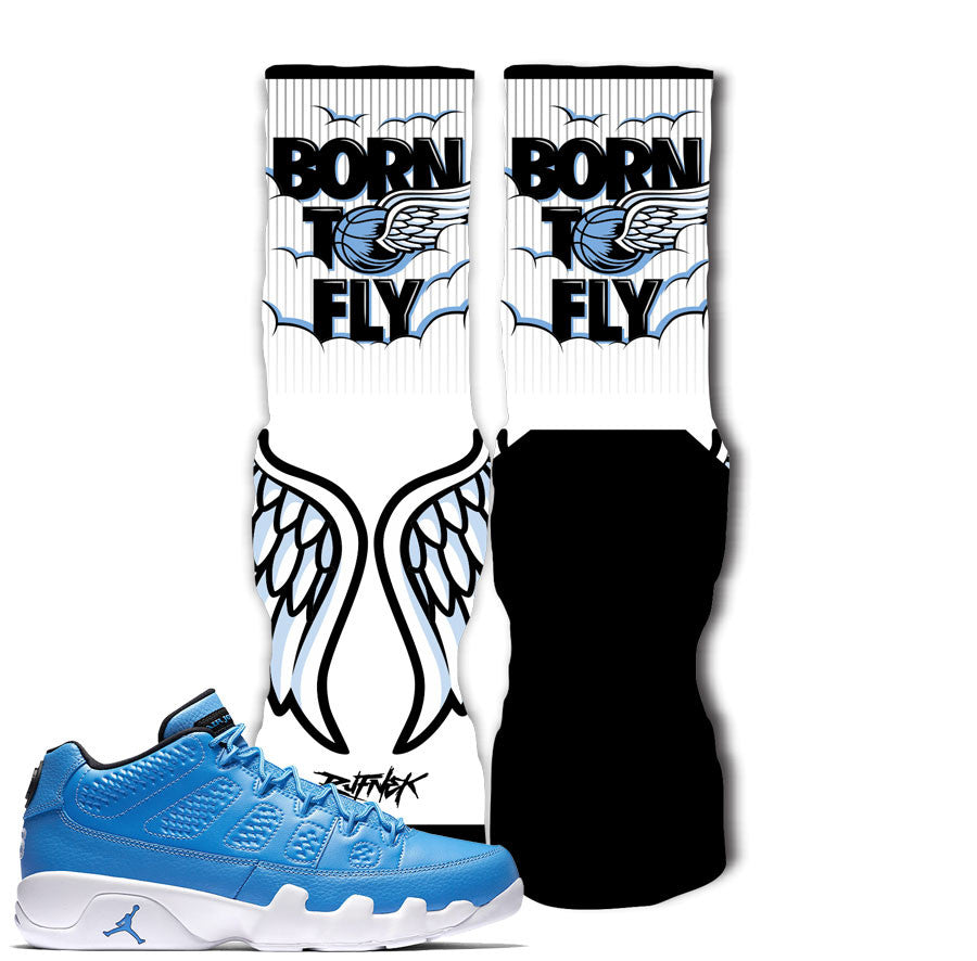 Jordan 9 Pantone Socks - Born To Fly