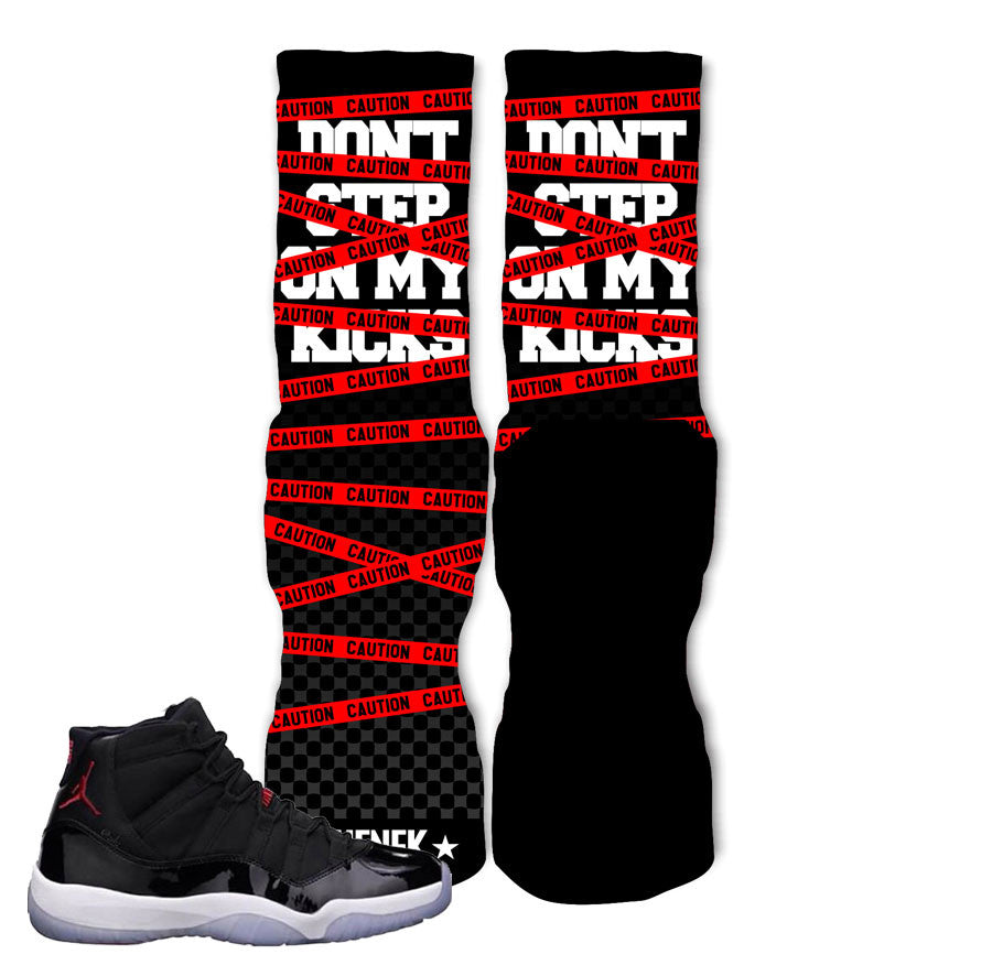 Elite socks match Jordan 11 72-10. In Yo face elite socks.